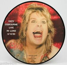 OZZY OSBOURNE Live in Lund LIMITED 300 copies Picture Disc VINYL Album LP Record