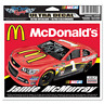 "NEW NASCAR Jamie McMurray #1 MCDONALD'S Ultra Decal 4-1/2"" BY 6"""