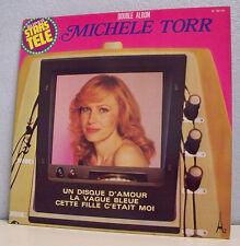 """2 x 33T Michèle TORR Vinyles  LP 12"""" UN DISQUE D'AMOUR Super stars télé AZ 85132"""