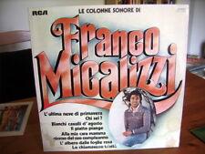 LP  FRANCO MICALIZZI Le colonne sonore  1975  Et.BIANCA