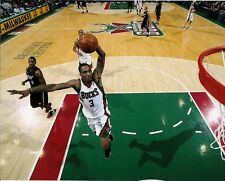 Brandon Jennings Milwaukee Bucks #3 8x10 Photo Picture Slam Dunk Bradley Center
