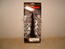 Lot of Ten Chrome Kickstand Return Springs for Big Twins & Sportsters - $36 NEW!