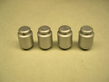 Set of 4 Reproduction American Flyer Milk Cans