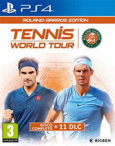 Tennis World Tour - Roland Garros Edition PS4 PLAYSTATION 4 PS4TENNISRGIT