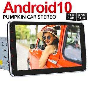 "PUMPKIN 10.1"" Android 10.0 Car Radio Stereo GPS 4GB 64GB Navi USB RDS Wifi DAB+"