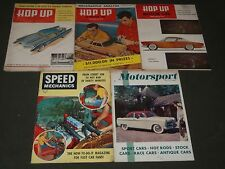 1952-1953 HOP UP CAR MAGAZINES LOT OF 5 ISSUES - SPEED MECHANICS - O 2283A