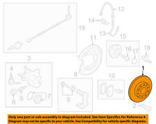 VW VOLKSWAGEN OEM 11-13 Jetta-Disc Brake Rotor 5Q0615601F
