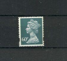 Great Britain Machin 60p OFNP PVA 2B WALSALL LITHO DG 600.1.1 SG U121 MNH