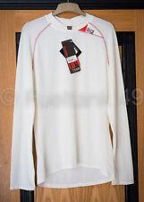 Scott ciclismo Next 2 Pelle della propria Maglietta Intima Manica Lunga Bianco taglia XL RRP £ 44.99