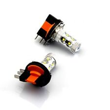 Ford Fiesta MK7 H15 Xenon White Cree LED Daytime Running Light Bulbs DRLs - 80W