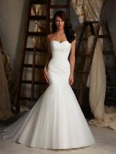 Buy Satin Strapless Wedding Dresses   eBay