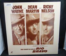 Laserdisc Laser Videodisc - John Wayne - Rio Bravo