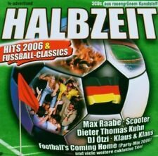 Halbzeit-Hits 2006 & Fussball-Classics (2006) Max Raabe, Scooter, Diete.. [3 CD]
