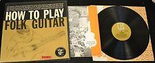 Billy Faier Elektra 5001 How To Play Folk Guitar LP