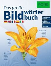 PONS Das große Bildwörterbuch (2014, Gebundene Ausgabe)