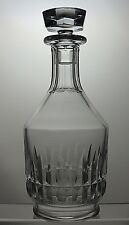 """BACCARAT CRYSTAL """"CANTERBURY"""" CUT GLASS ROUND WINE DECANTER -SIGNED"""