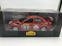 "Die Cast "" Mitsubishi Lancer Evo VI 1999 T.Makinen "" Rallye 1/18 Altaya"
