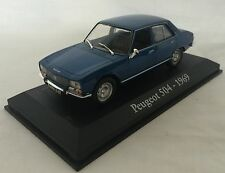VOITURE MINIATURE de COLLECTION 1/43 PEUGEOT 504 de 1969 NOREV