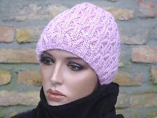 Damen Mütze Wintermütze Strickmütze beanie warm doppellagig m. Lurexfaden GOLIAT