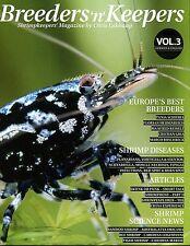 Breeders 'n' Keepers - Shrimp Keepers Magazine/Book. (Freshwater Shrimps) VOL. 3
