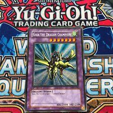Gaia the Dragon Champion LOB-E102 Secret Rare 1st Edition (LP) 2002 Euro YuGiOh!