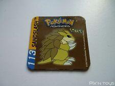 Magnet Staks Pokémon Advanced / 113 Sandslash / Panini 2003 [ Neuf ]