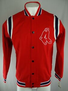 Boston Red Sox MLB G-III Men's Snap-Up Jacket
