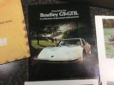 1977 Bradley GT & GTII Fiberglass Kit Car Brochure & other flyers