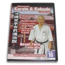 Okinawan Goju Ryu Karate Kobudo Legends #16 Dvd Masaji Taira Rs0622 Jundokan New