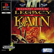 PLAYSTATION ® 1 ps1 ps2 ps3 Blood Omen Legacy of Kain ™ (culto) RAR