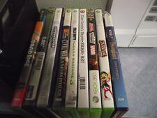 LOT XBOX GAMES 360 SKYRIM MARVEL SUPER HERO SQUAD SIMPSONS ROAD RAGE CALL DUTY +