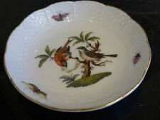 Herend Rothschild Bird #7767 Pin Dish Plate