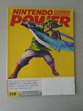 **NICE Nintendo Power Magazine # 258 September 2010 Zelda Skyward Sword