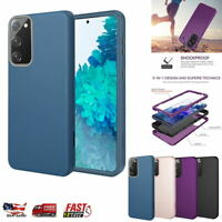 For Samsung Galaxy S20 FE 5G Case 3 in 1 Heavy Duty Rugged Shockproof Hard Cover