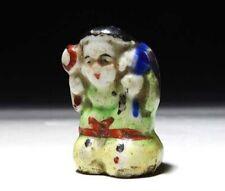 Japan antique Netsuke God Daikoku Porcelain inro ojime sagemono rare Original