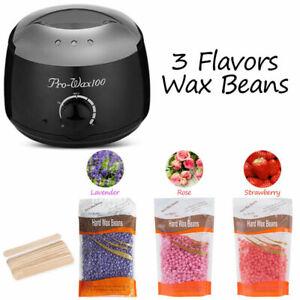 Wax Warmer Hair Removal Depilatory Paraffin Machine Beauty Kit Pot Waxing 500ML