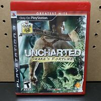 Uncharted: Drake's Fortune For PlayStation 3-PS3-CIB-Tested-Fast Ship