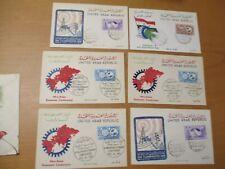 UAR, Pakistan, etc. alte Briefe 1893-1958