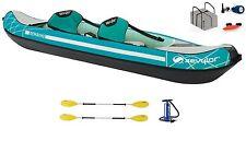 Sevylor Madison Kajak Kanu Schlauchboot + 2 Doppelpaddel K-Compact 230 + Pumpe