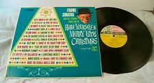 FRANK SINATRA + VARIOUS HAVE YOURSELF A MERRY LITTLE  CHRISTMAS LP REPRISE 50001