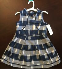 OSHKOSH NightFall Blue Dress Size 4T