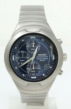 Orologio Seiko v657-6190 chronograph watch stainless steel clock seiko horloge