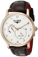 Elysee Priamos 77017B Made in Germany Men's Automatic Dress Watch Rose Gold NEW