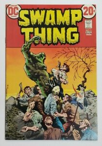 Swamp Thing #5 (Aug 1973 DC) VF+ 8.5 Bernie Wrightson Cover Art!