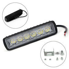 12V 18W Spot 6LED MIni Work Light Bar Car Truck Boat Hunt Driving Fog Lamp 1pcs