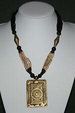 Mehrsträngige collana con amuleto dall'Africa Mali