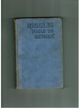 W. E. JOHNS  Biggles Fails to Return -  1943 hardback