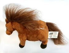 THELWELL FILLED CUSHION PLUSH TOY HORSE NOVELTY PONY BROWN EMBROIDERED