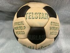 Original 1970 Adidas Telstar World Cup Ball. Made In Spain.