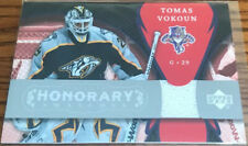 2007-08 Upper Deck Trilogy Honorary Swatches Tomas Vokoun HS-VO Florida Panthers